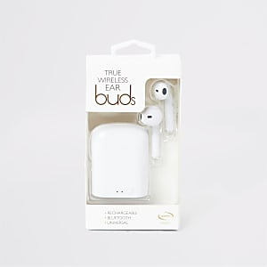 Mayhem white wireless ear buds