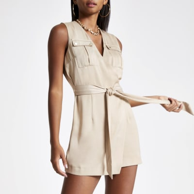 Stone wrap playsuit