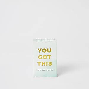 "Cartes motivantes ""You got this"""