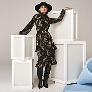 Das schwarze Sienna Kleid