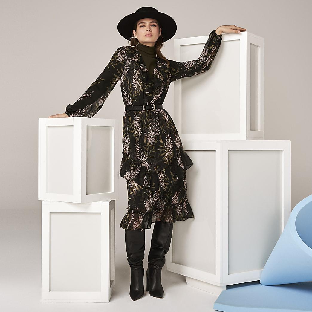 The Black Sienna Dress