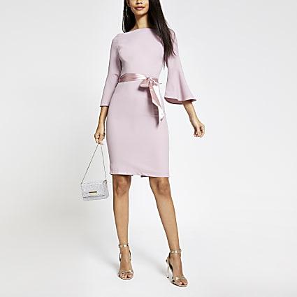 Chi Chi London pink Yohanna dress