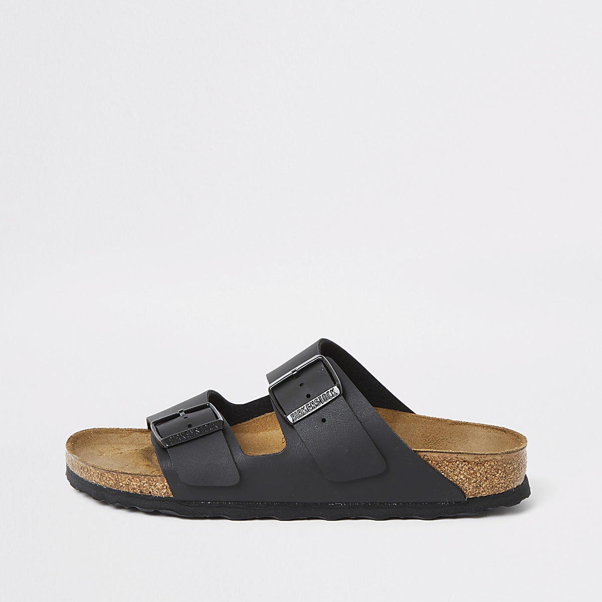 Birkenstock Arizona black two strap sandals