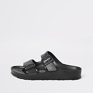 Birkenstock - Zwarte Arizona Eva sandalen