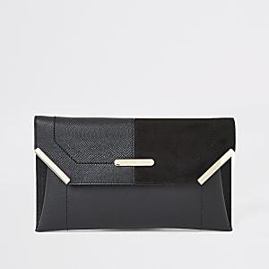 Pochette enveloppe noire