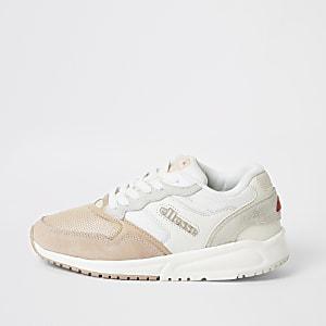 Ellesse - Roze NYC84 sneakers met vetersluiting