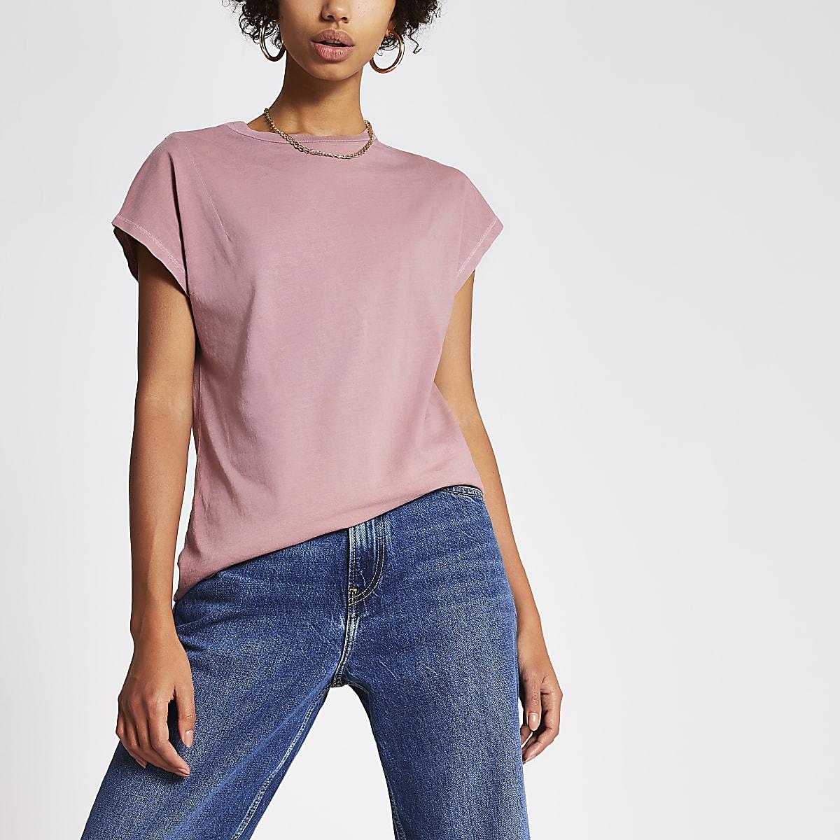 Pepe Jeans x Dua Lipa - T-shirt rose