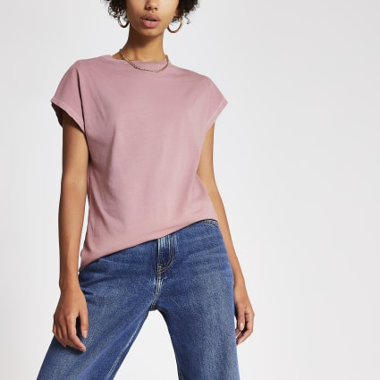Pepe Jeans x Dua Lipa pink T-shirt