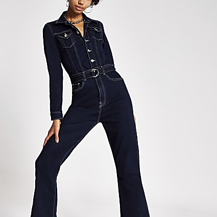 Dua Lipa x Pepe Jeans denim jumpsuit