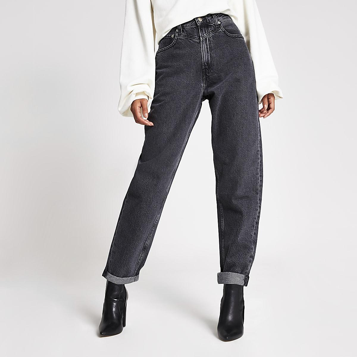 Dua Lipa x Pepe Jeans - Zwarte wash denim jeans