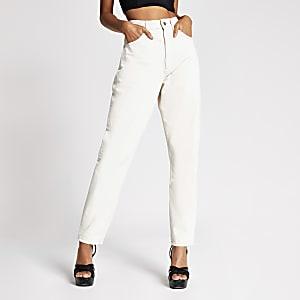 Dua Lipa x Pepe Jeans - Ecru denim jeans