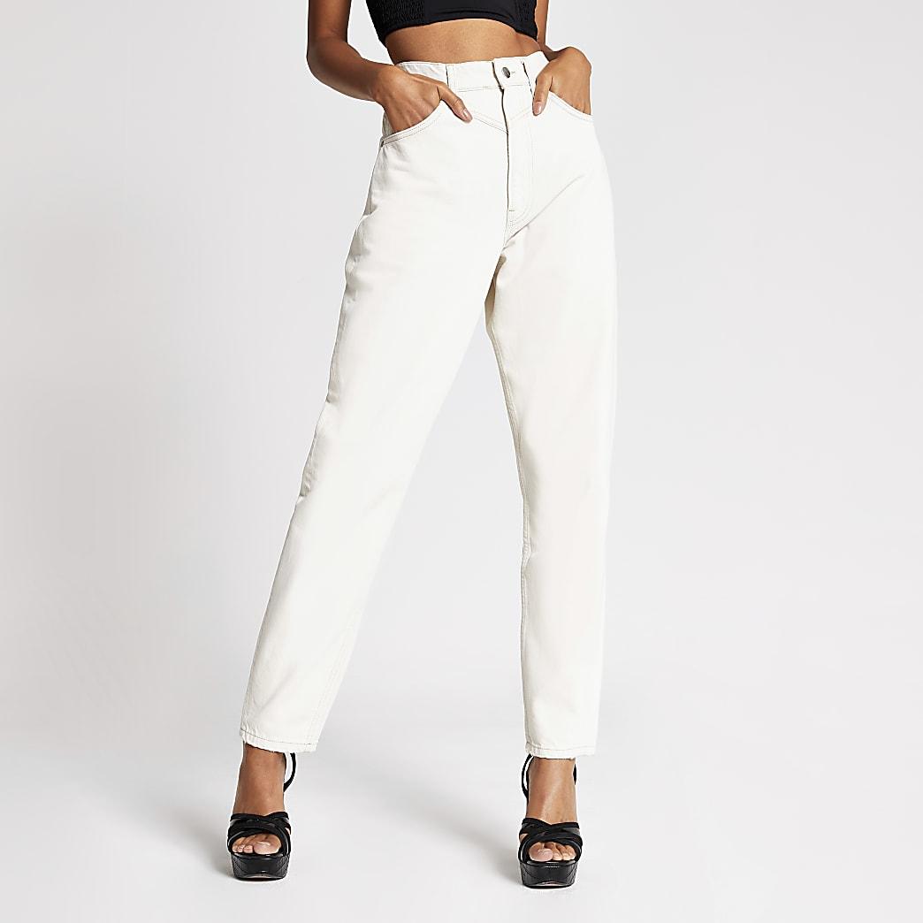 Dua Lipa x Pepe Jeans - Jean en denimécru