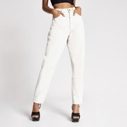 Dua Lipa x Pepe Jeans ecru denim jeans