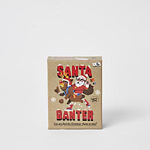 Jeu Santa banter