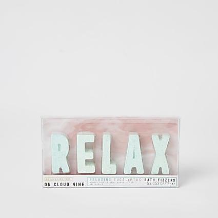 On cloud nine 'Relax' eucalyptus bath fizzer