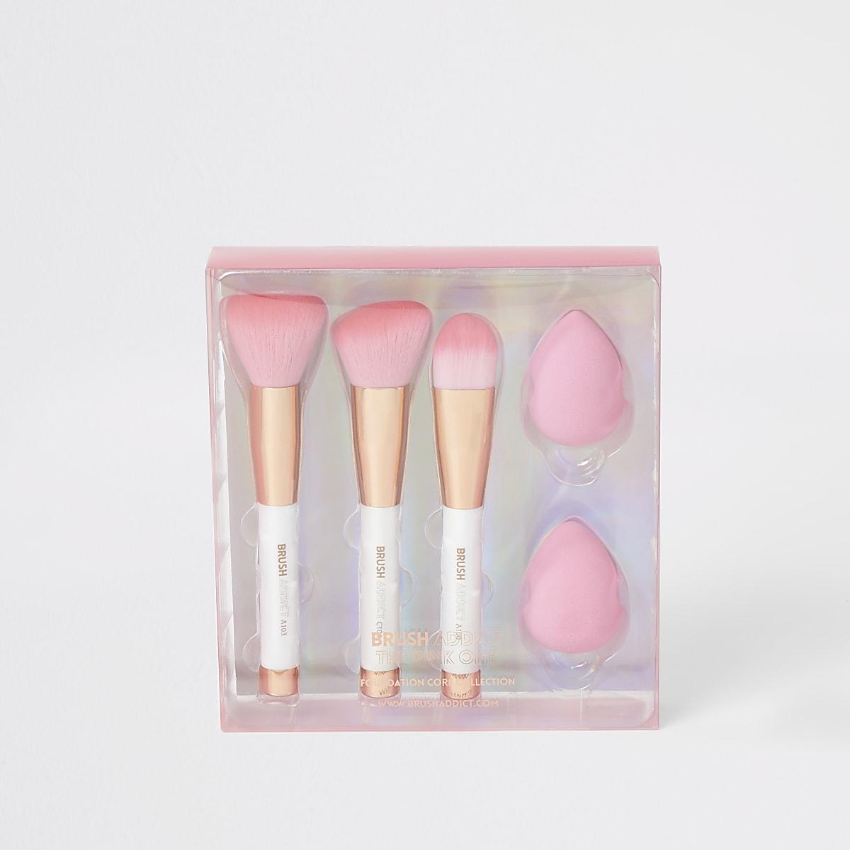 Brush Addict foundation brush set