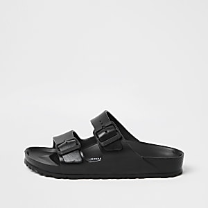 Birkenstock black Arizona EVA sandals