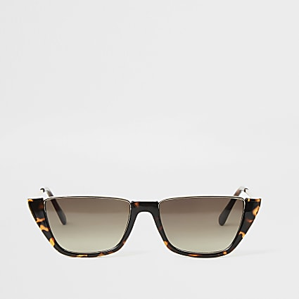 brown tortoiseshell demi sunglasses