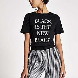 "T-Shirt ""Black is the new Black"""
