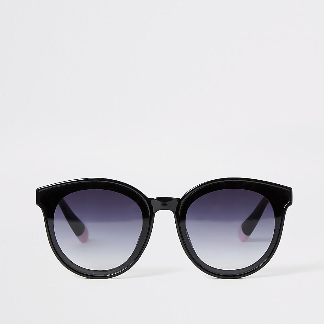Zwarte glam zonnebril