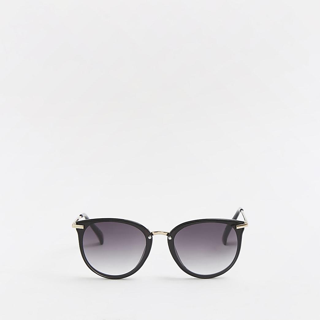 Zwarte zonnebril met rookglazen