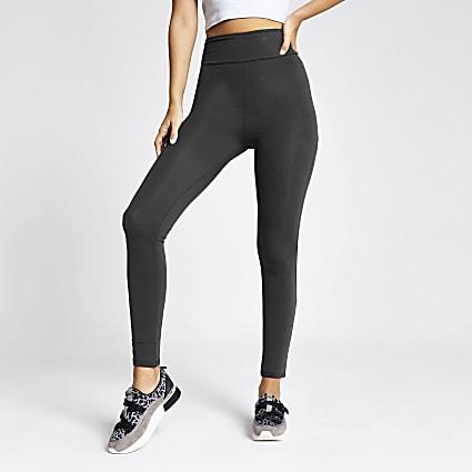 Dark grey high waisted legging