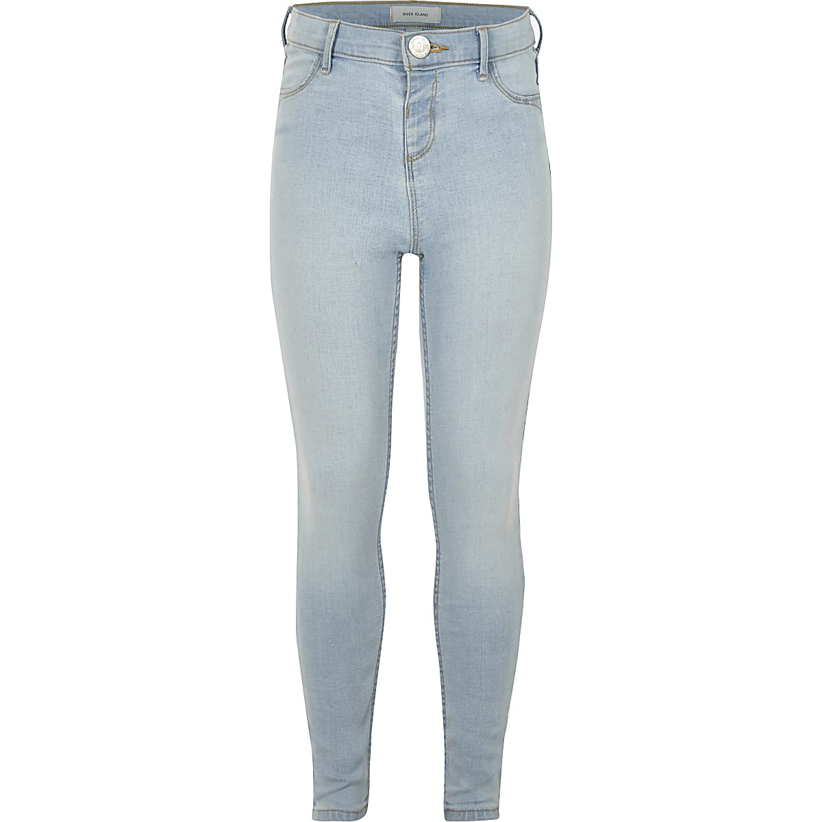 Girls light blue Molly jeggings