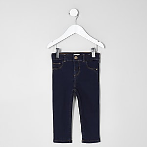 Mini kids dark blue Molly jeggings