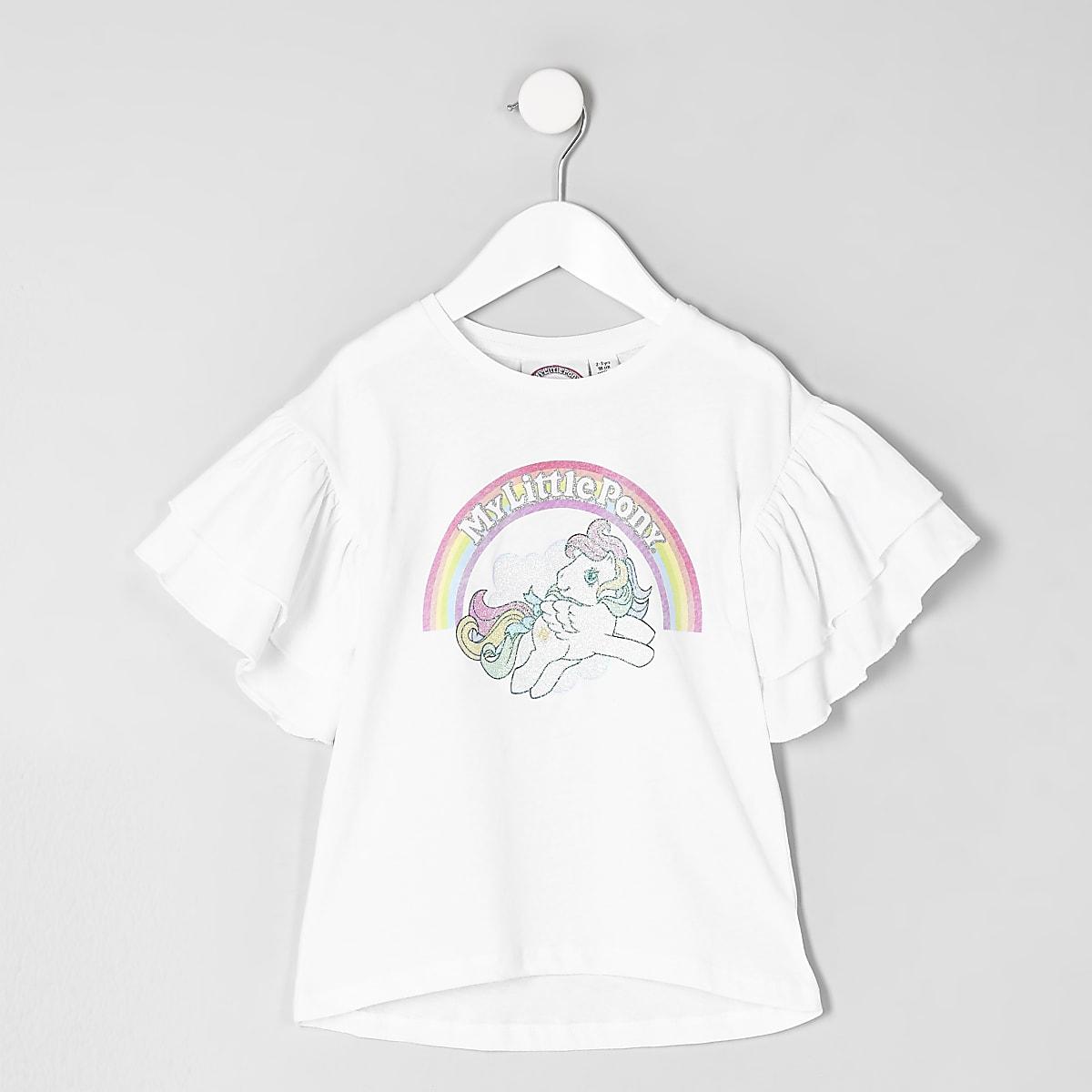 Mini girls white 'My Little Pony' T-shirt
