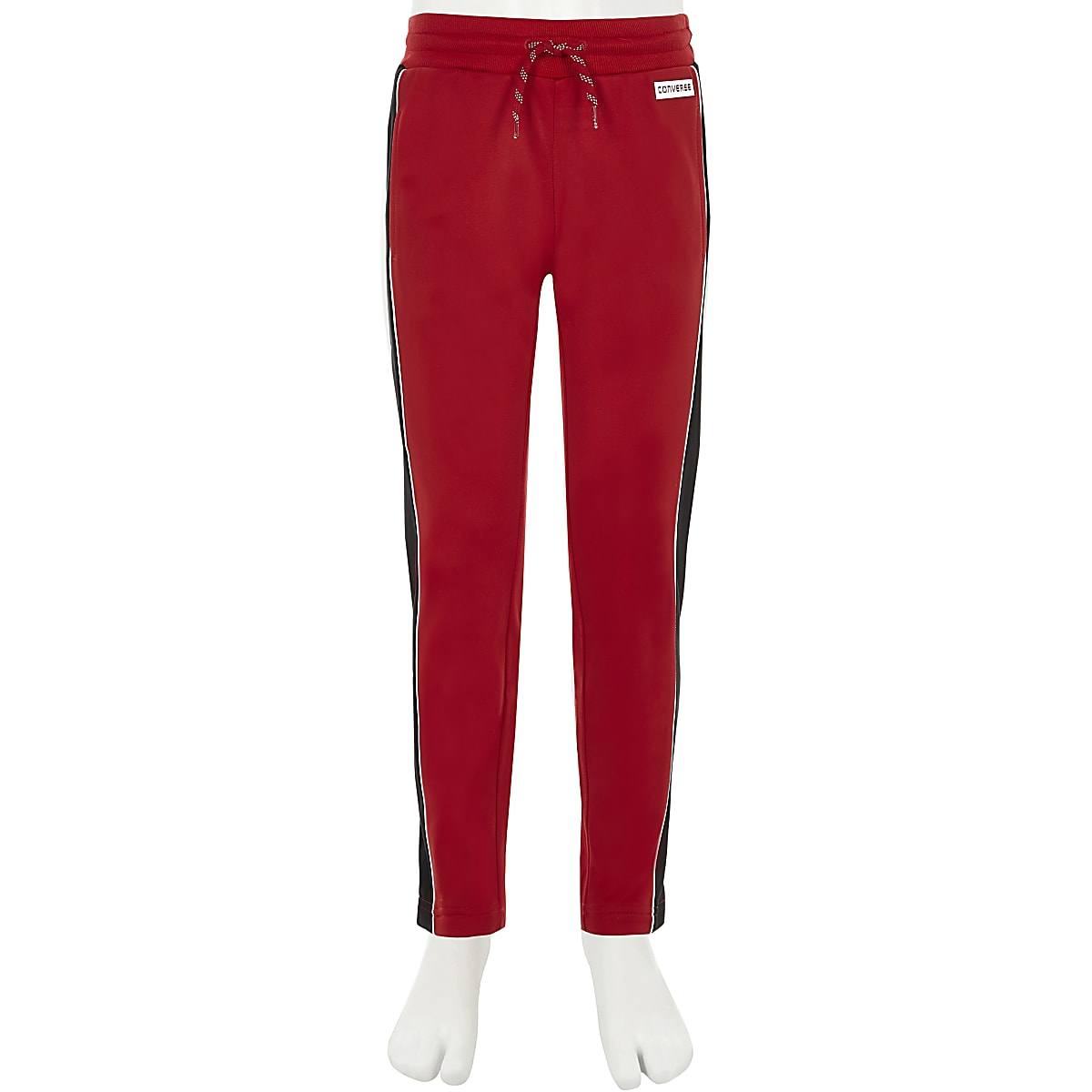 95a8cc9189fd Girls Converse red straight leg joggers - Joggers - Trousers - girls