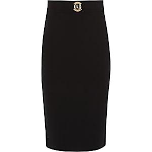 Girls black tube skirt