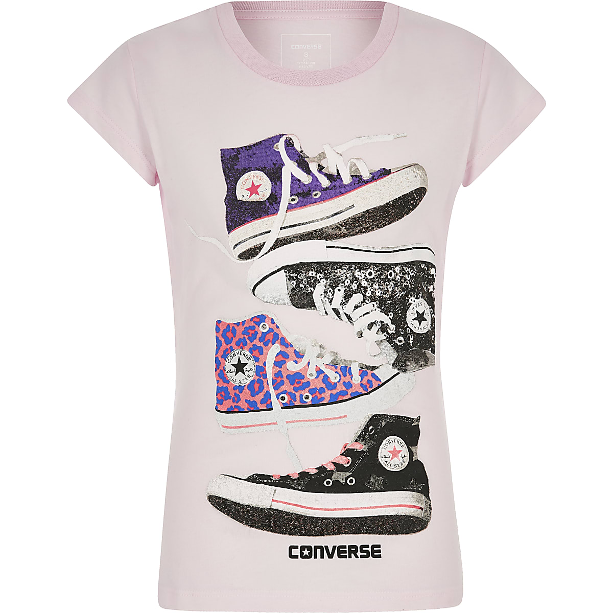 913da55bb518 Girls Converse pink chucks T-shirt - T-Shirts - Tops - girls