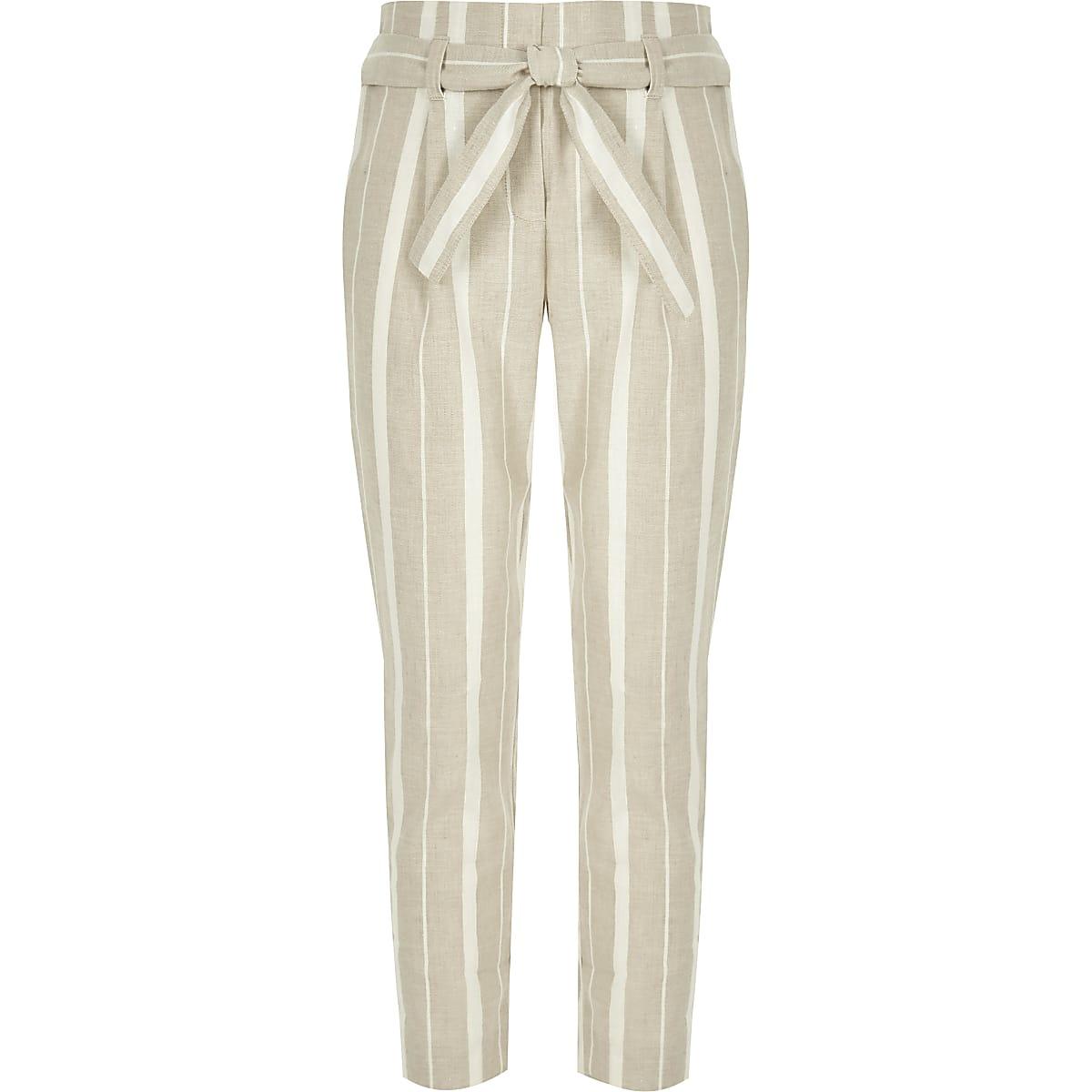 Neuf Rouge /& Blanc Rayure Fille Court Bloomers Pantalon Short Costume