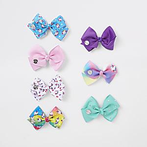 JoJo - Set met roze strikken voor meisjes