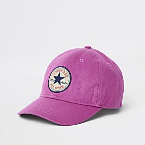 Kids pink Converse cap