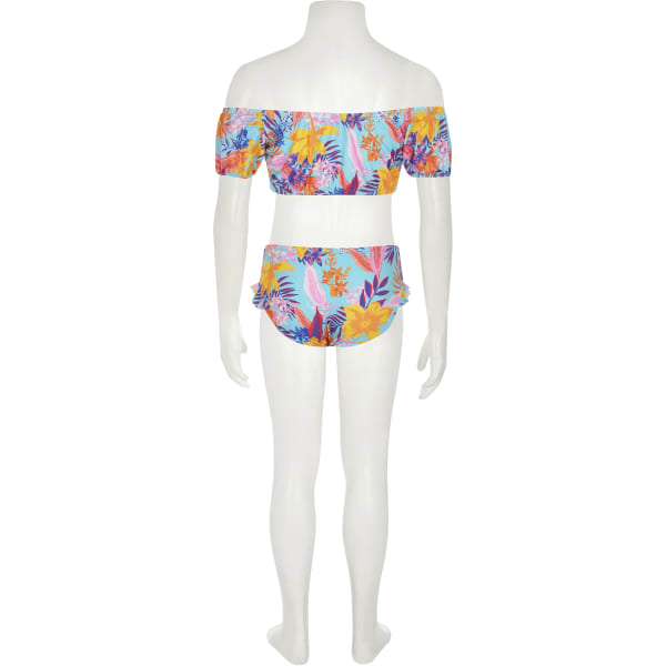River Island - bardot-bikini mit print - 3