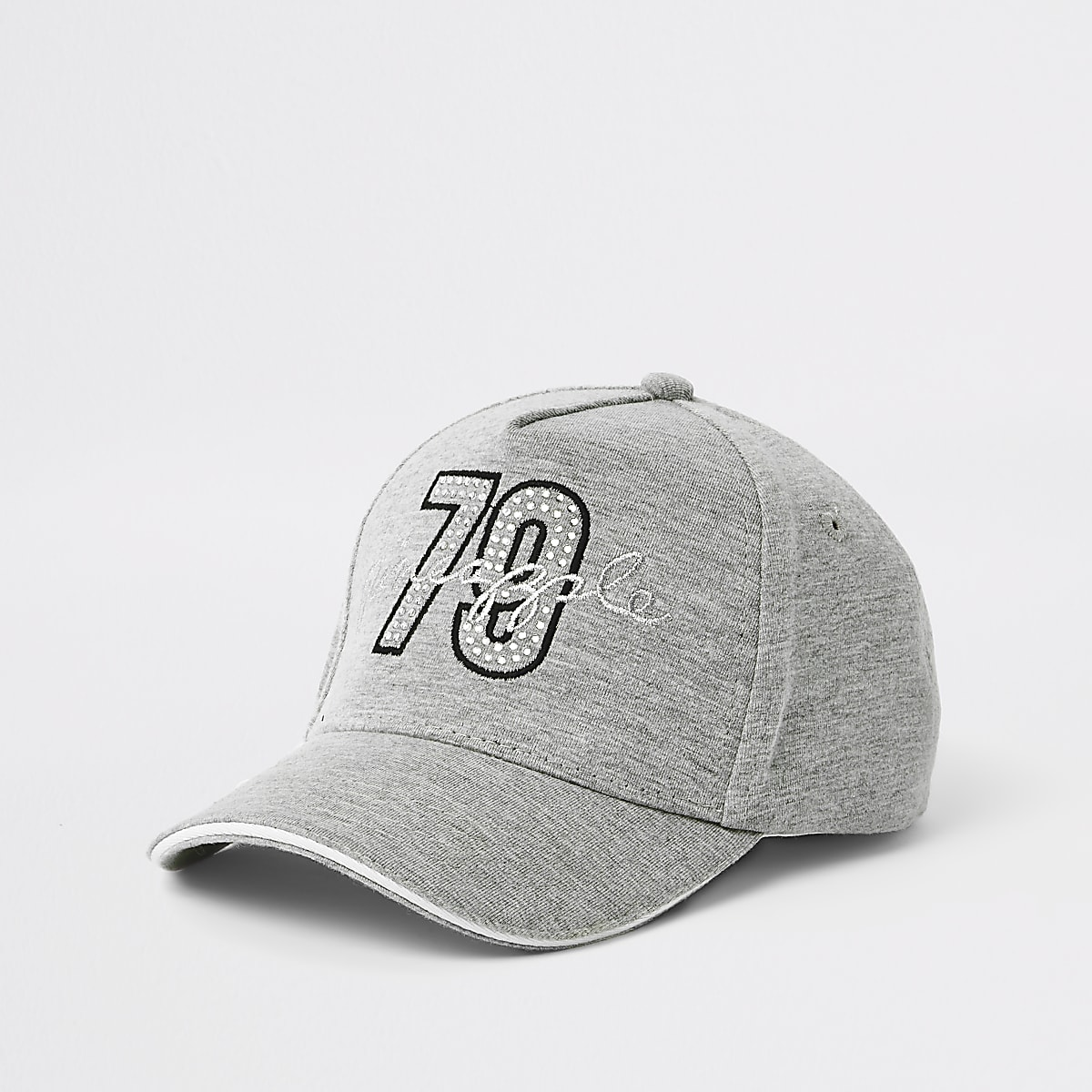 Girls Pineapple grey '79' cap