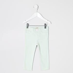 Molly – Jegging vert menthe pour mini fille