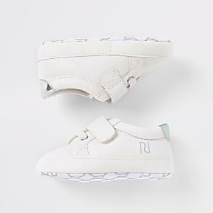 Baby 'You can' white trainers