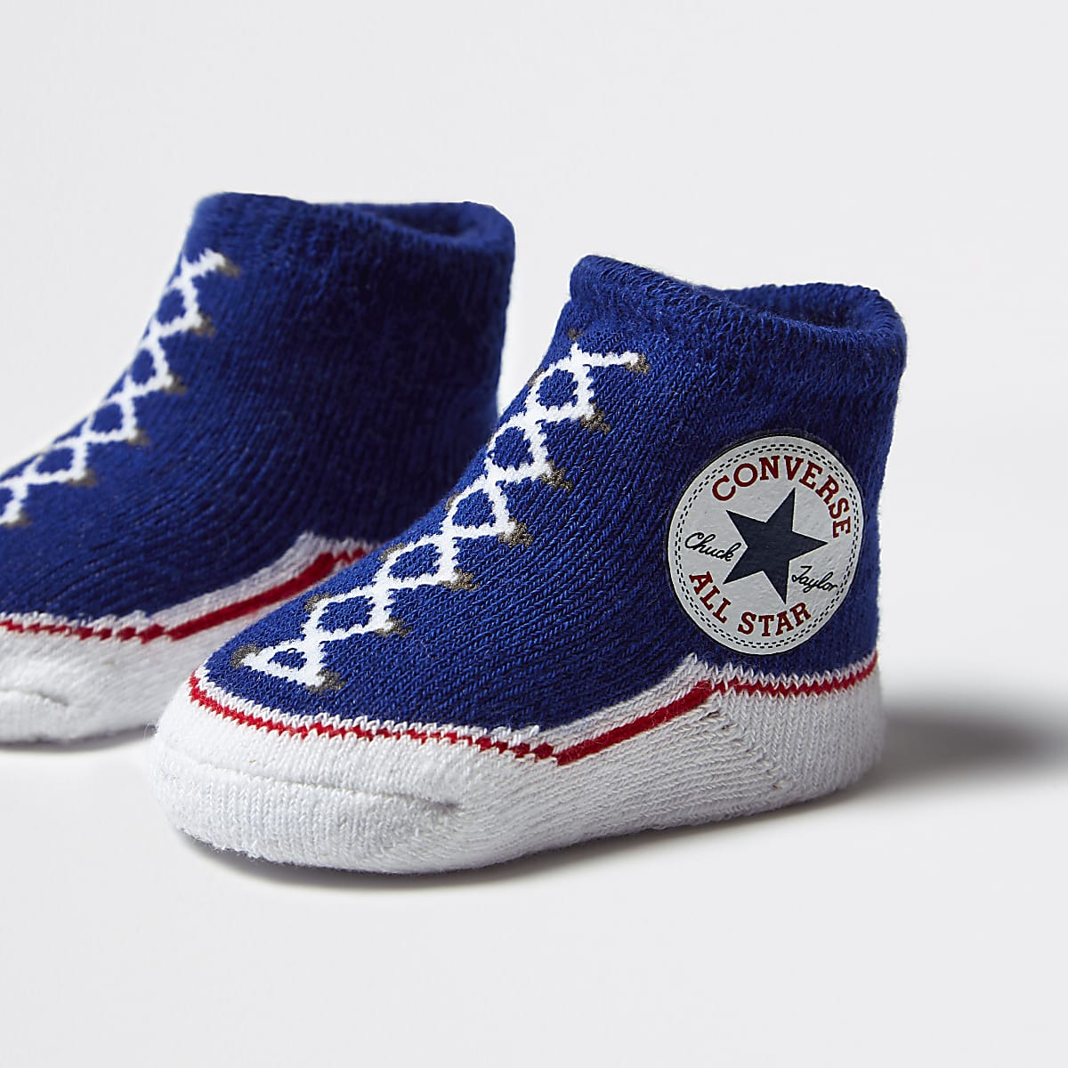 403d1fb0f6b513 Baby Converse All Star navy booties - Baby Girls Accessories - Mini ...