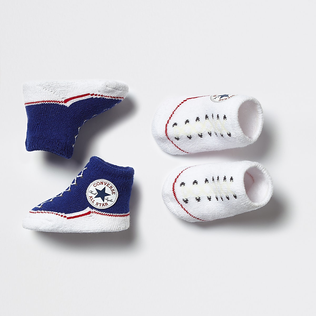 Baby Converse All Star navy booties