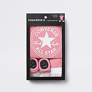 Roze Converse All Star-babyset