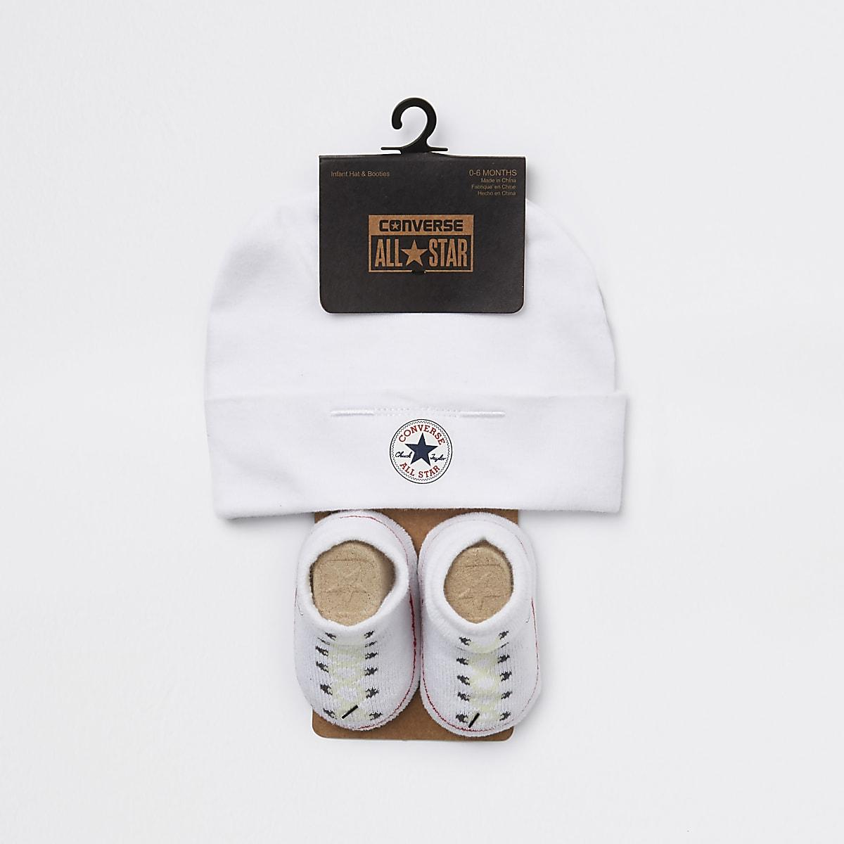 0fc84c64d71c Baby Converse All Star white hat set - Baby Girls Accessories - Mini Girls  - girls
