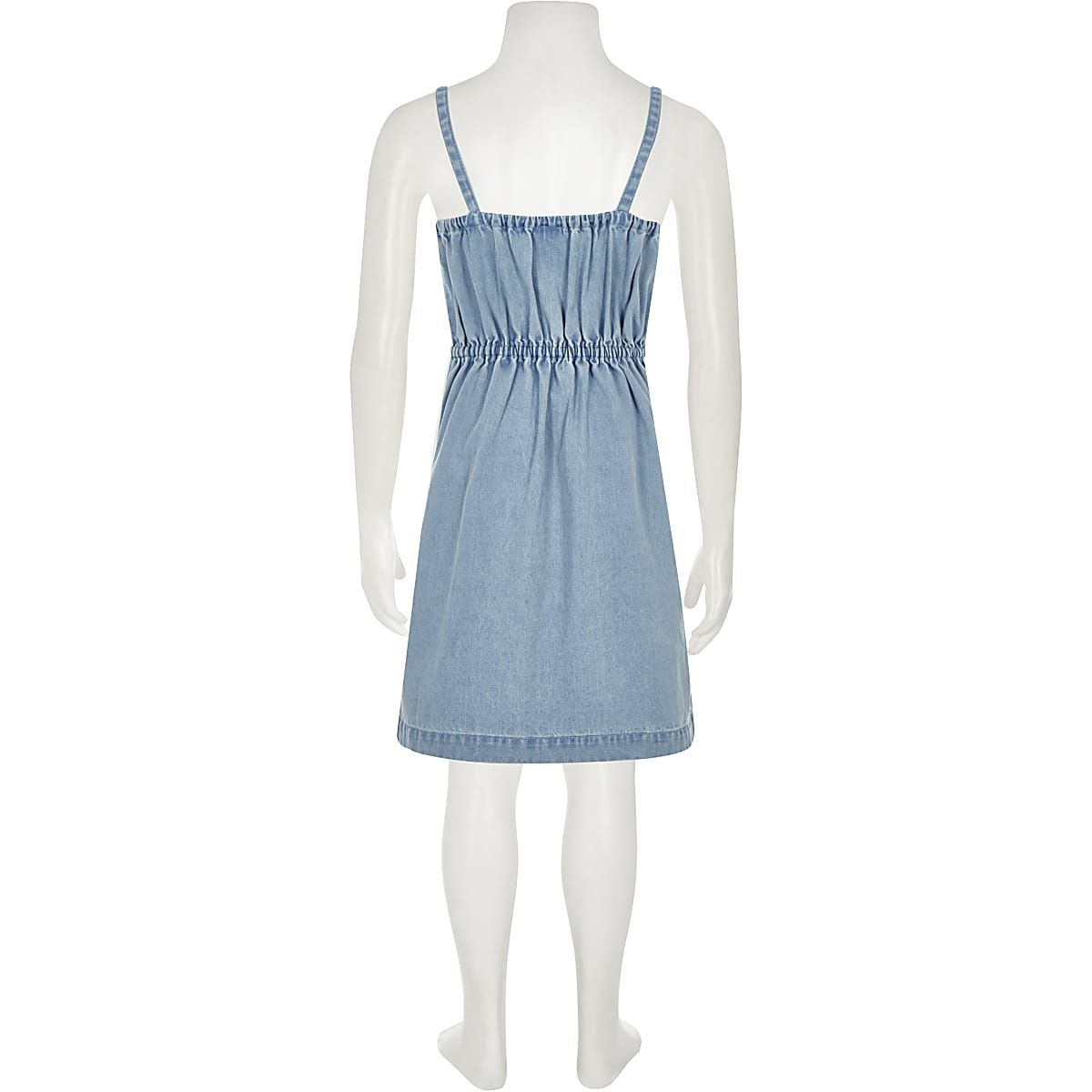 6e89a58b31 Girls blue denim cami dress - Day Dresses - Dresses - girls