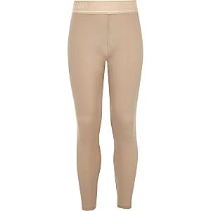 RI Active - Roze metallic legging voor meisjes