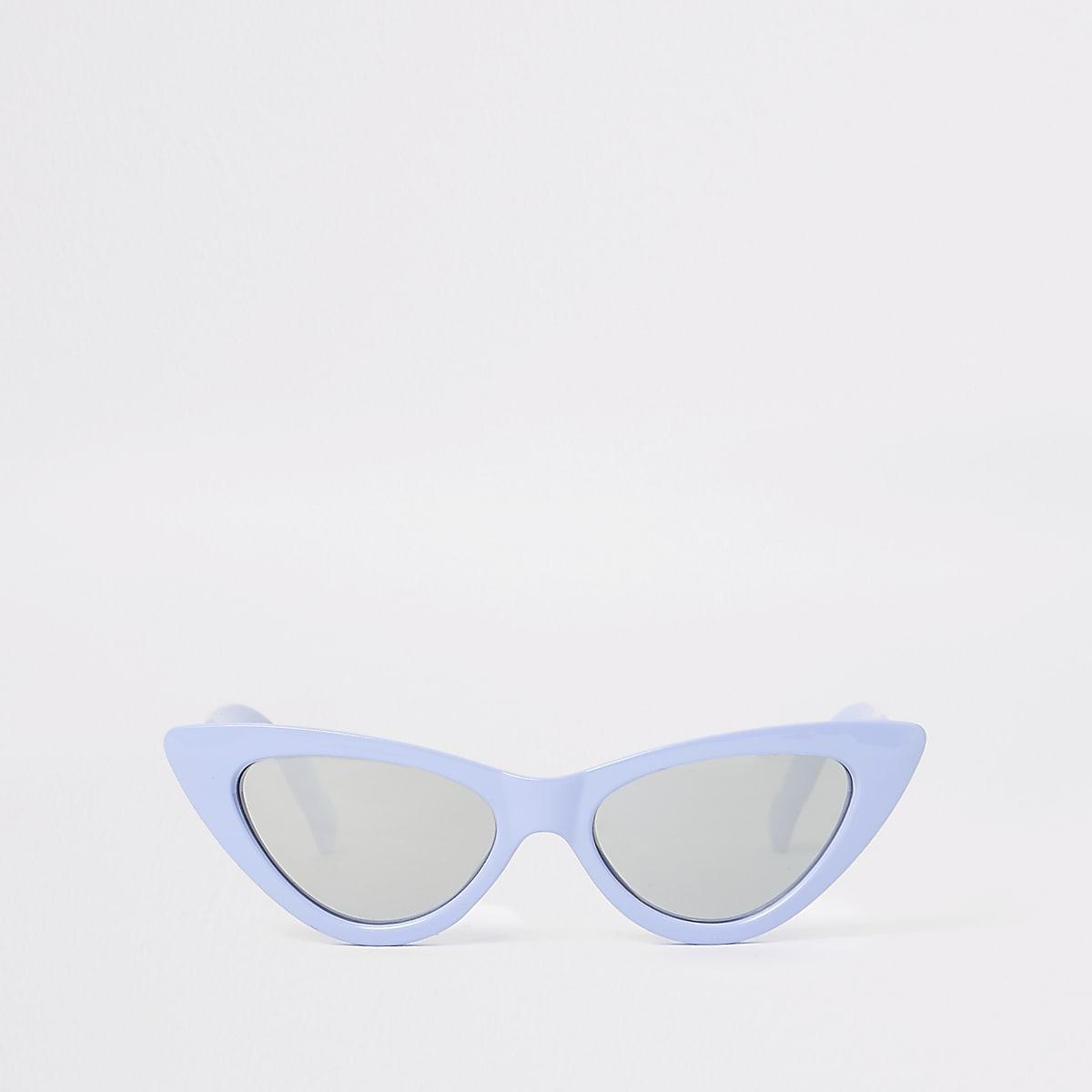 Girls blue cat eye sunglasses