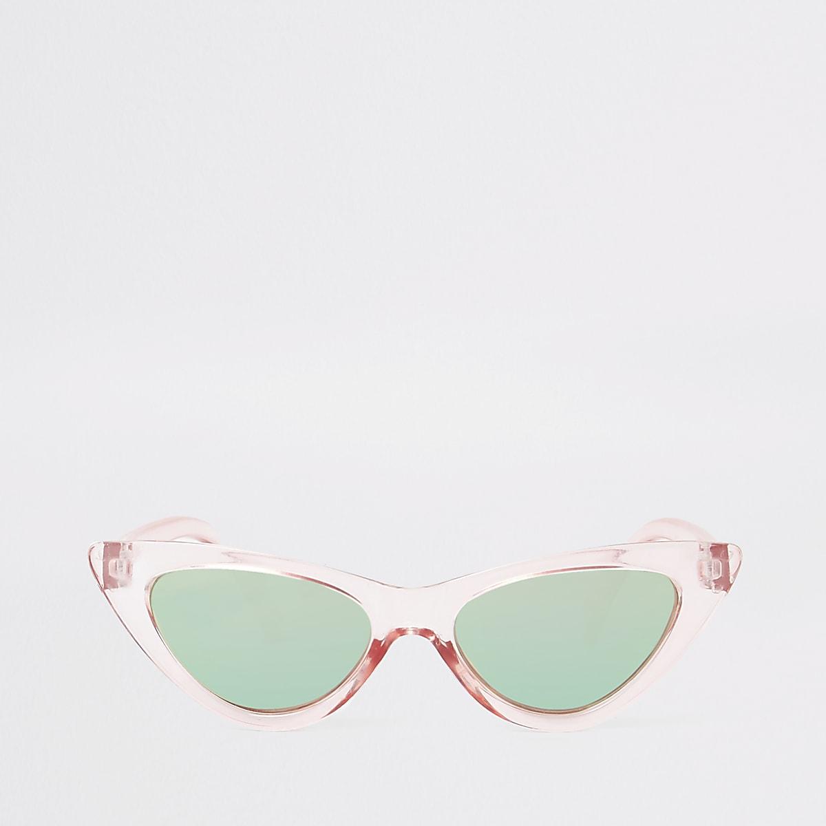 Girls pink cat eye sunglasses