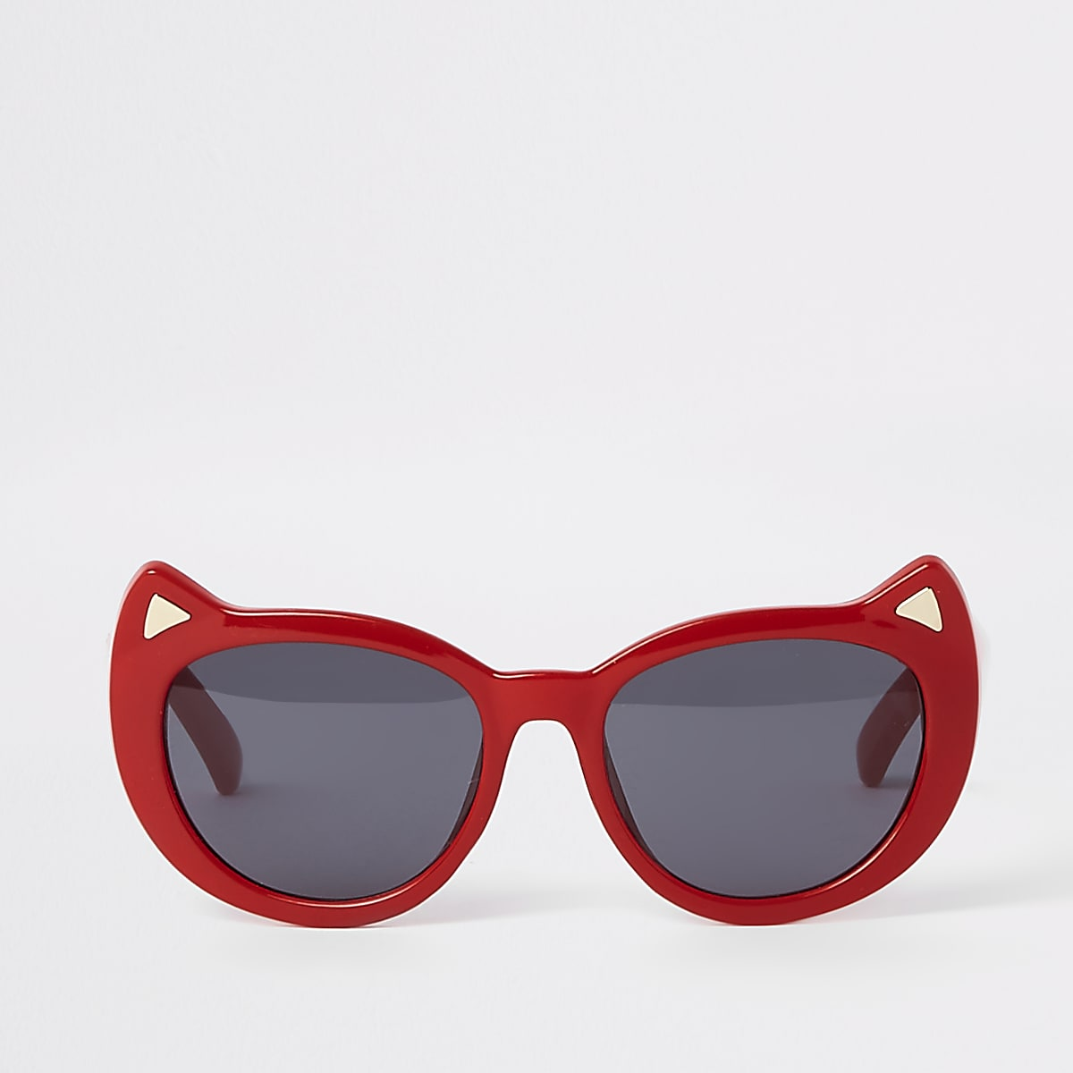 Mini girls red cat eye sunglasses