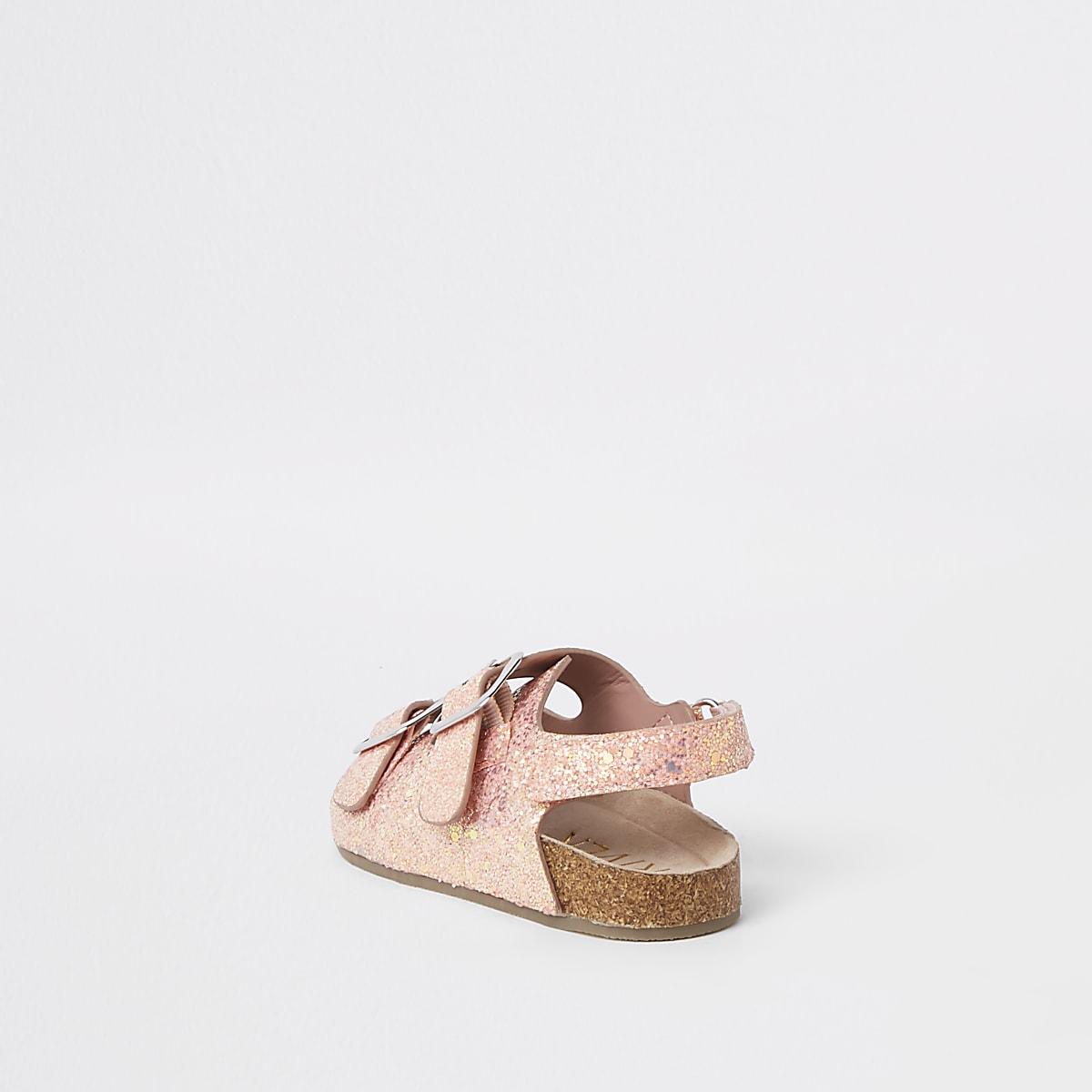 Mini Sandals Pink Cork Glitter Girls 8vwmn0N