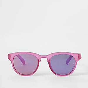Sonnenbrille in Hellrosa